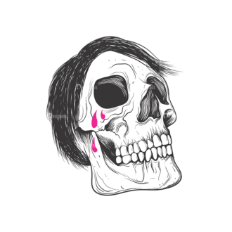 Skull Vector Clipart 9-2 Clip Art - SVG & PNG vector