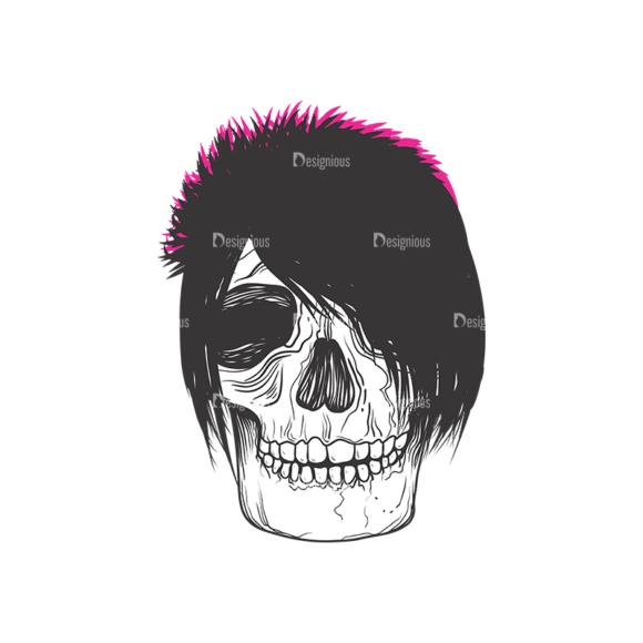 Skull Vector Clipart 9-3 Clip Art - SVG & PNG vector