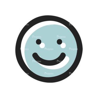 Social Media Doodle Vector Set 5 Vector Smiley 11 Clip Art - SVG & PNG vector