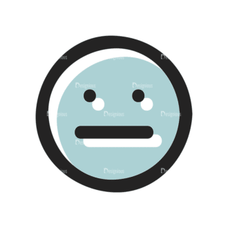 Social Media Doodle Vector Set 5 Vector Smiley 12 Clip Art - SVG & PNG vector