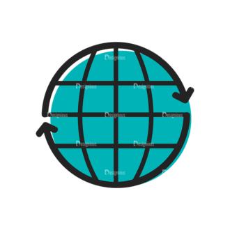 Social Media Doodle Vector Set 5 Vector Web Clip Art - SVG & PNG vector