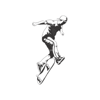 Sports Skaters Pack 1 5 Preview Clip Art - SVG & PNG vector