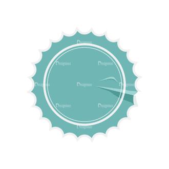 Stickers Vector Sticker Label 05 Clip Art - SVG & PNG vector