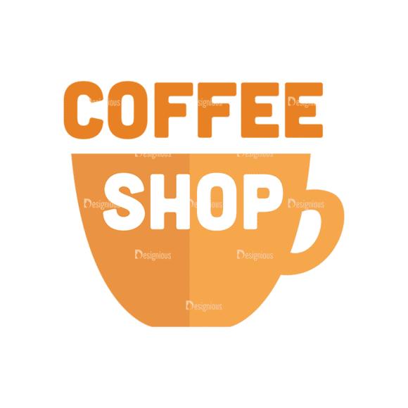 Universal Flat Icons Vector Set 3 Vector Coffee Shop Clip Art - SVG & PNG vector