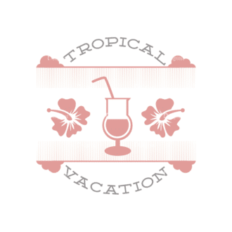 Vacation Emblems Vector Set 1 Vector Summer 06 Clip Art - SVG & PNG summer