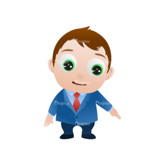 Vector Mascots Business Man Vector Business Man 18 Clip Art - SVG & PNG vector