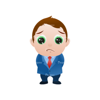Vector Mascots Business Man Vector Business Man 19 Clip Art - SVG & PNG vector