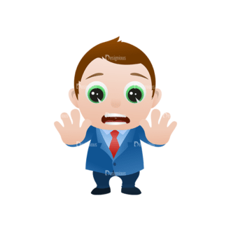 Vector Mascots Business Man Vector Business Man 20 Clip Art - SVG & PNG vector