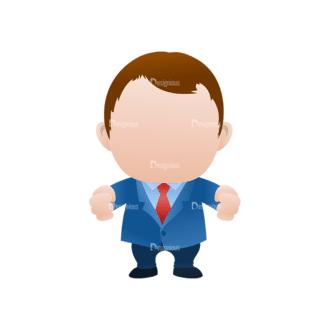 Vector Mascots Business Man Vector Business Man 31 Clip Art - SVG & PNG vector