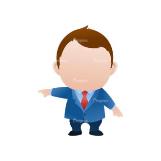 Vector Mascots Business Man Vector Business Man 32 Clip Art - SVG & PNG vector