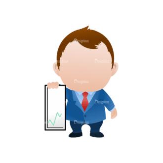 Vector Mascots Business Man Vector Business Man 39 Clip Art - SVG & PNG vector