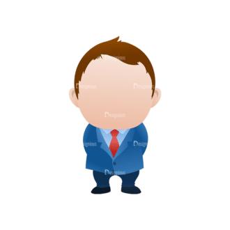 Vector Mascots Business Man Vector Business Man 41 Clip Art - SVG & PNG vector