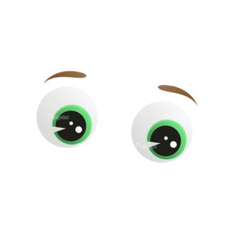 Vector Mascots Business Man Vector Eyes 53 Clip Art - SVG & PNG vector