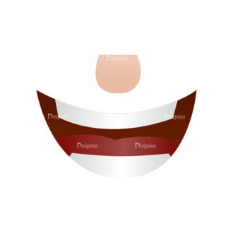 Vector Mascots Business Man Vector Mouth 71 Clip Art - SVG & PNG vector