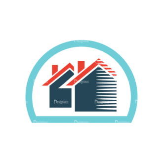 Web Icons Vector Set 2 Vector House Clip Art - SVG & PNG vector