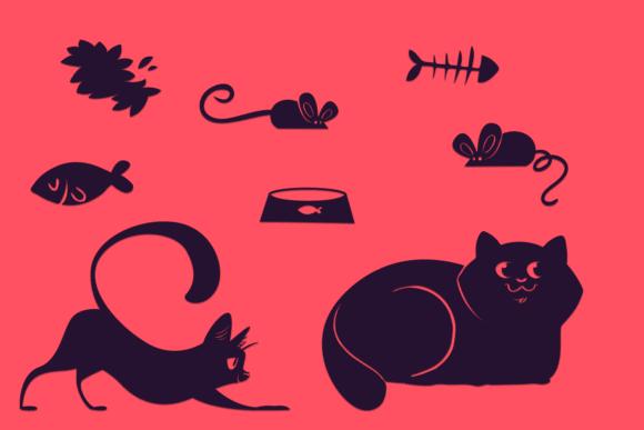 Cute Pets Designs SVG Files Vector packs cat