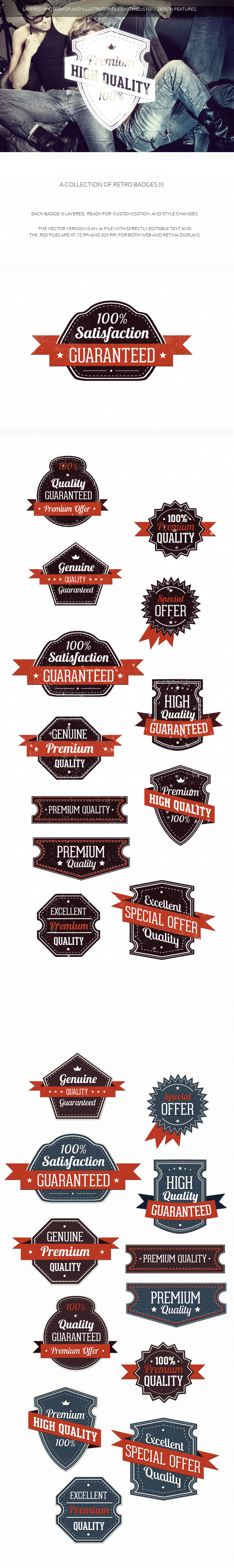 200+ Super Premium Badges 16